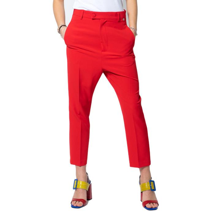 Please Women's Trouser Red 171457 - red XS