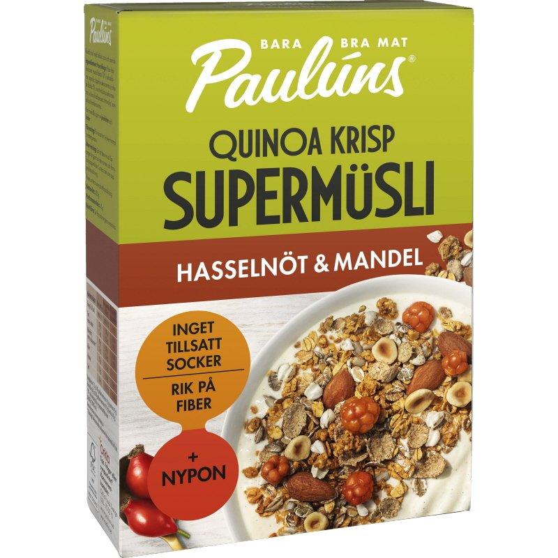 Müsli Hasselnöt & Mandel - 25% rabatt