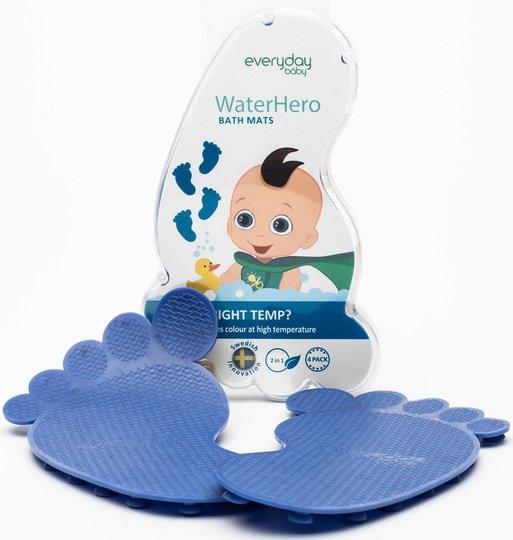 Everyday Baby Badematter Varmeind 4-Pack, Blå