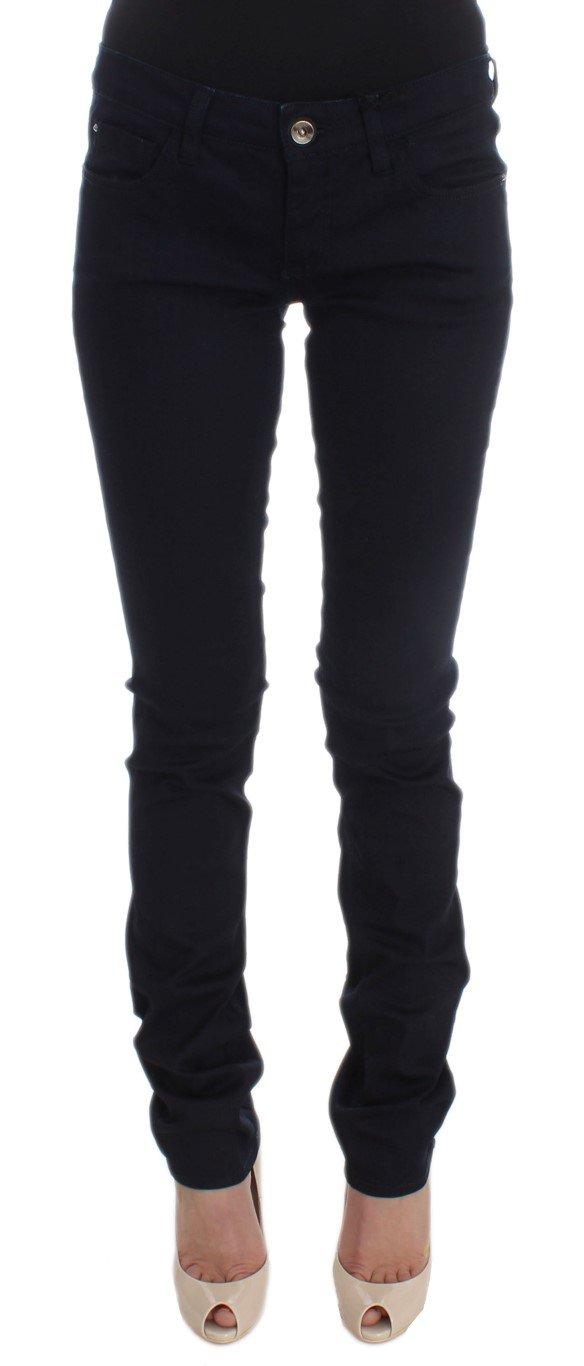 Costume National Women's Cotton Blend Slim Fit Jeans Blue SIG30204 - W26