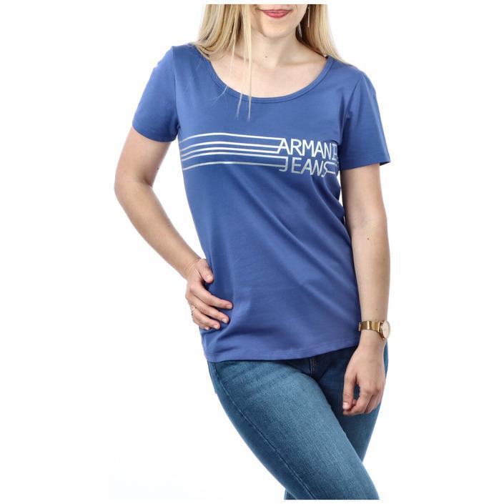 Armani Jeans Women's T-Shirt Various Colours 271668 - blue 3XL