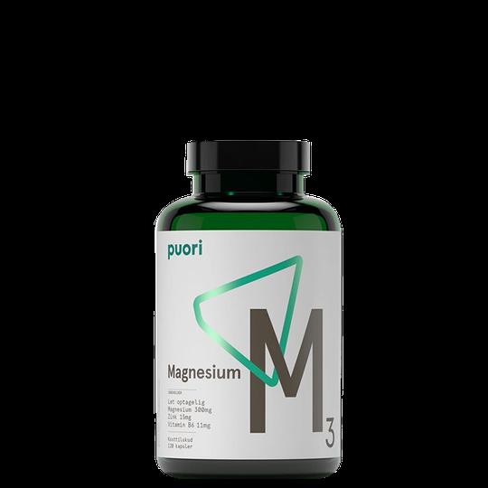 M3 Magnesium & Zink, 120 kapslar