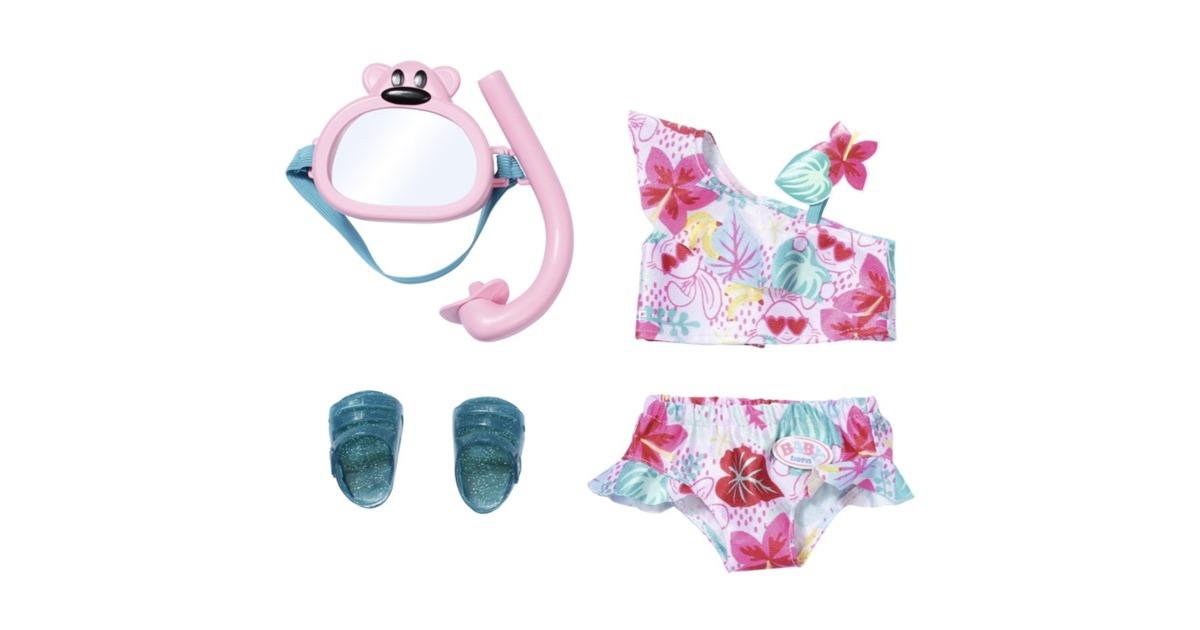 Baby Born - Holiday Deluxe Bikini Set 43cm (829240)