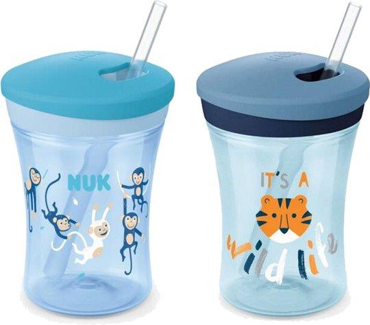 NUK Evolution Action Cup Mugg, Blå