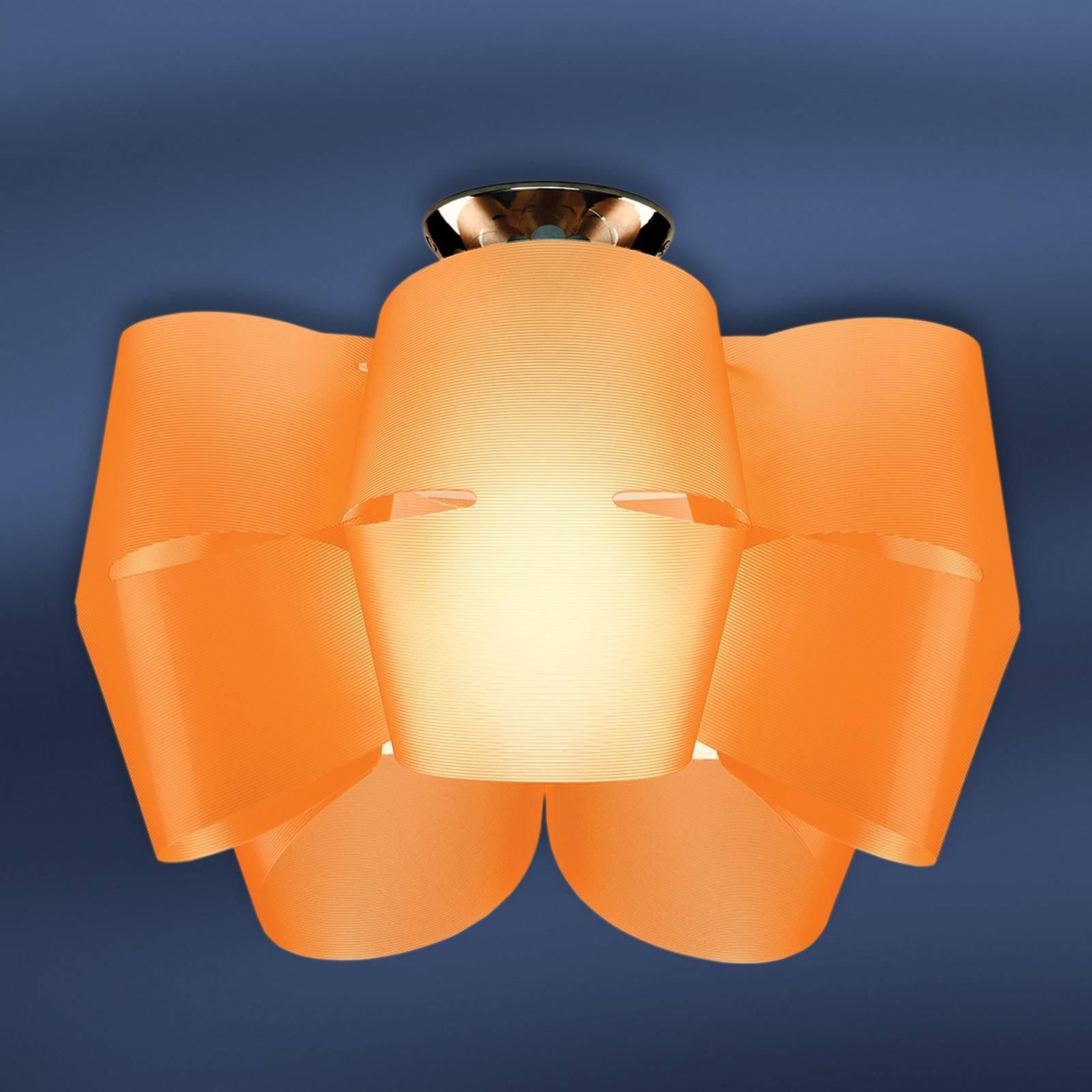 Sky Mini Alien taklampe oransje