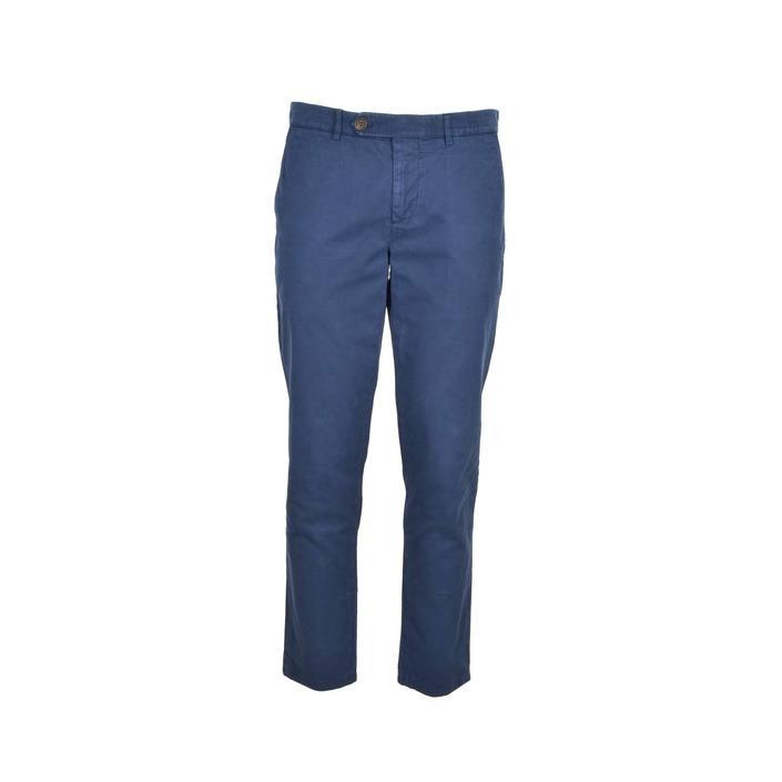 Brunello Cucinelli Men's Trouser Blue 222469 - blue 52