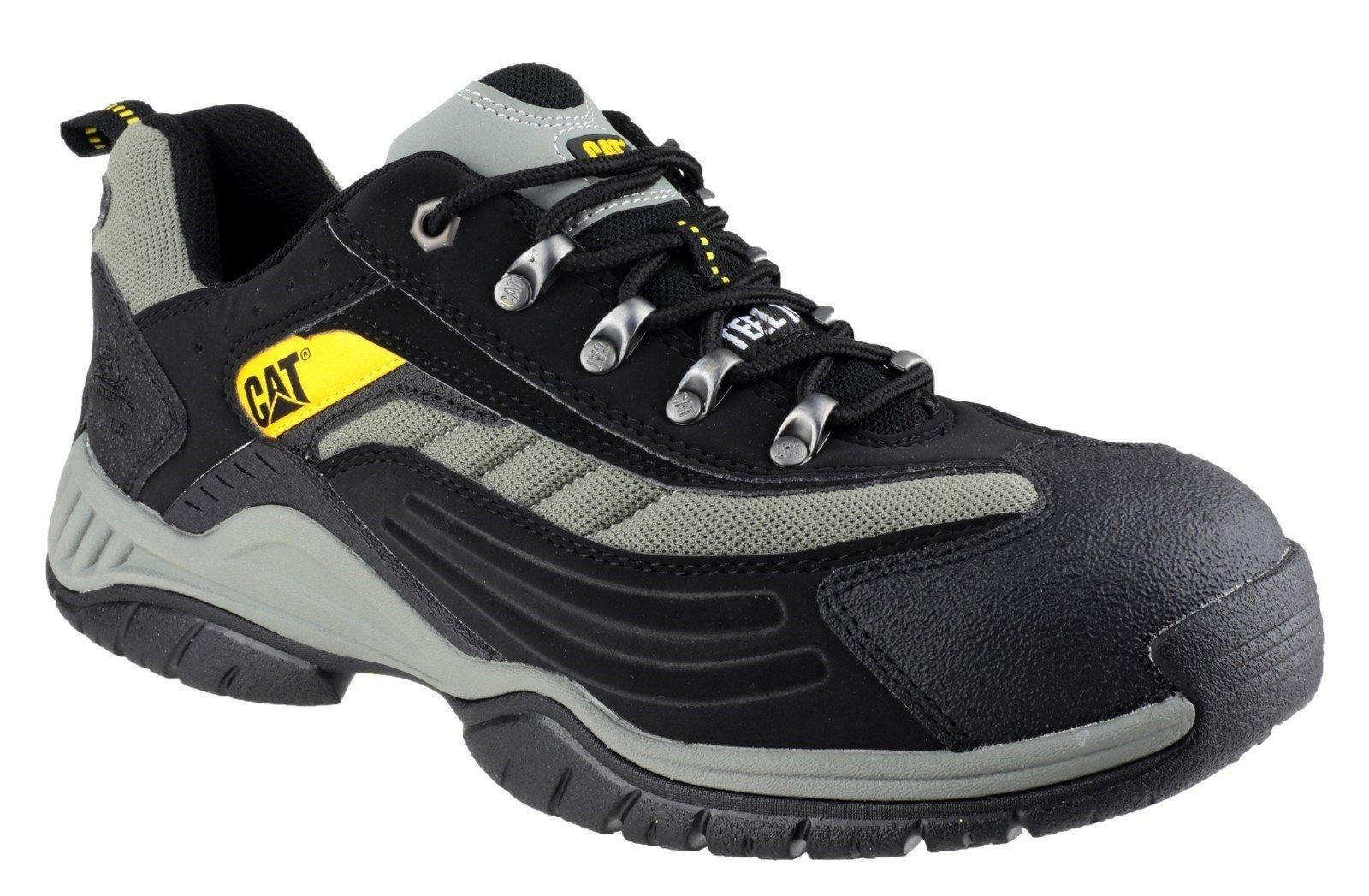 Caterpillar Men's Moor Safety Trainer Black 10928 - Black 6
