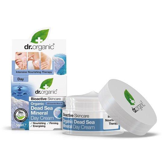 Dr. Organic Dead Sea Mineral Day Cream, 50 ml