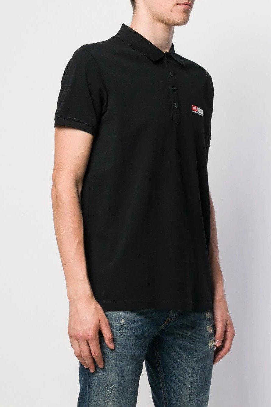 Diesel Men's Polo Shirt Various Colours 283887 - black-2 L