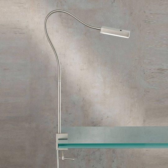 LED-klemmelampe Raik med bevegelsesstyring, 60 cm