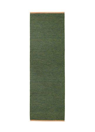 Bjørk Teppe Grønn 80x250 cm