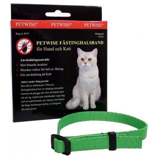 Petwise Fästinghalsband Katt