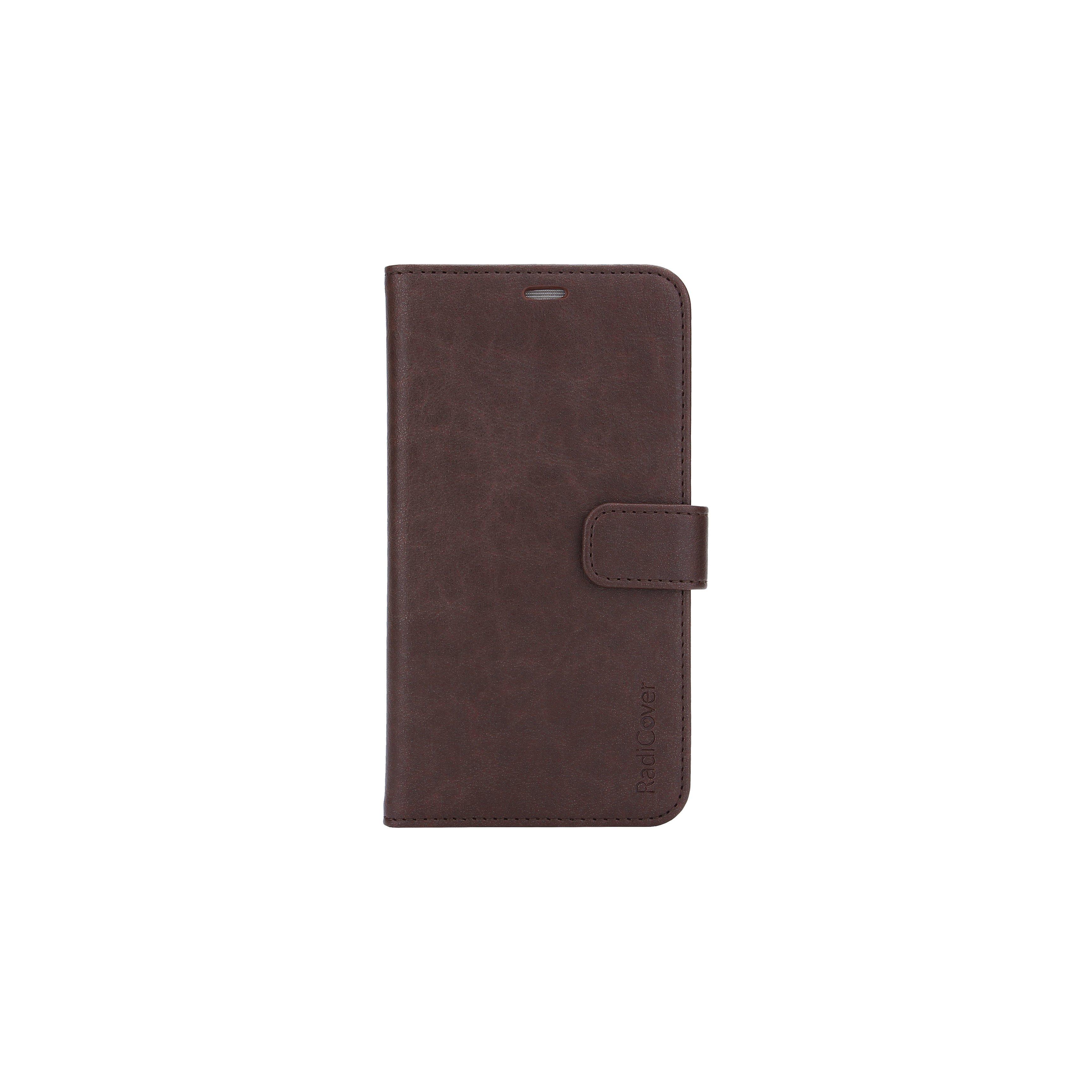 RadiCover - Radiationprotected Mobilewallet PU iPhone 11 - Brown