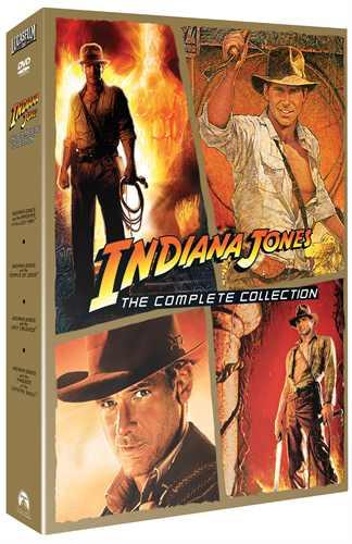Indiana Jones - Quadrilogy Box (5 disc) - DVD