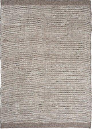 Asko Teppe Lysegrå 80x250 cm