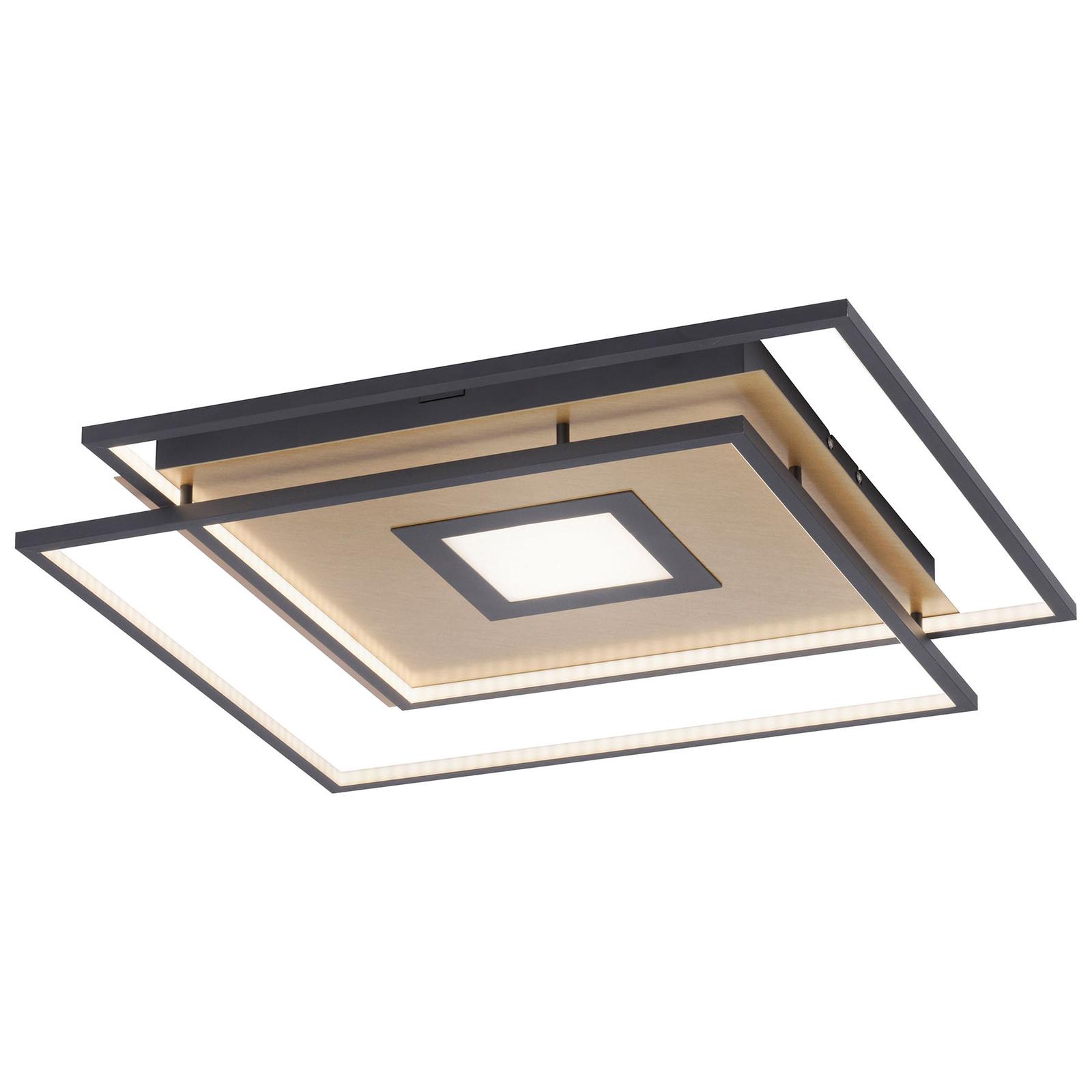 Paul Neuhaus Q-AMIRA LED-kattovalaisin, kulta