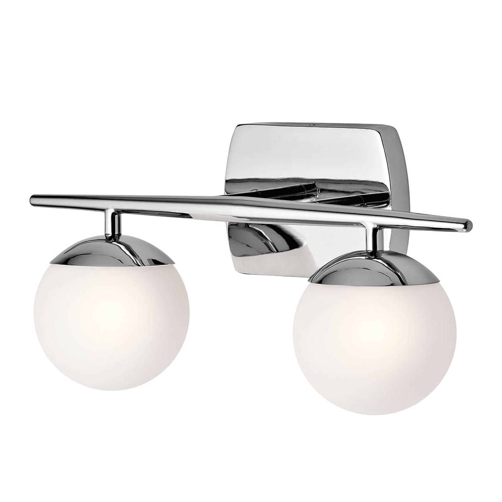Jasper -kylpyhuoneen LED-seinävalaisin, 2 lamppua