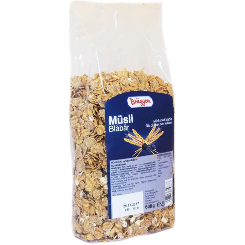 """Mysli """"Mustikka"""" 600 g - 60% alennus"""