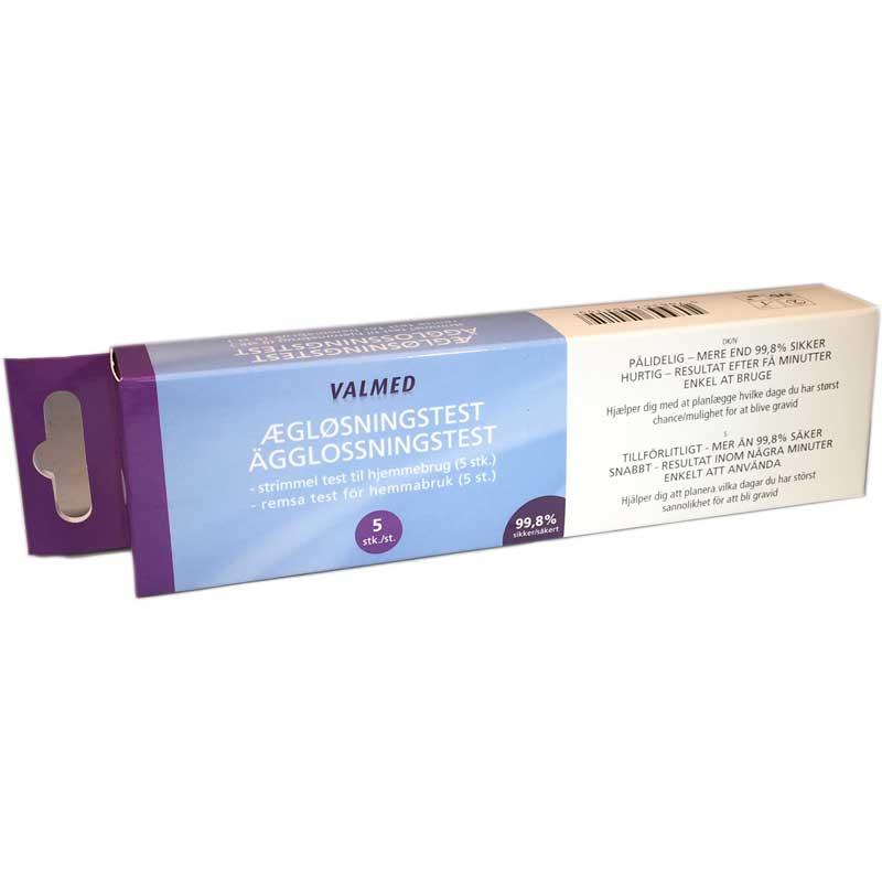 Ägglossningstest 5-pack Remsa - 40% rabatt