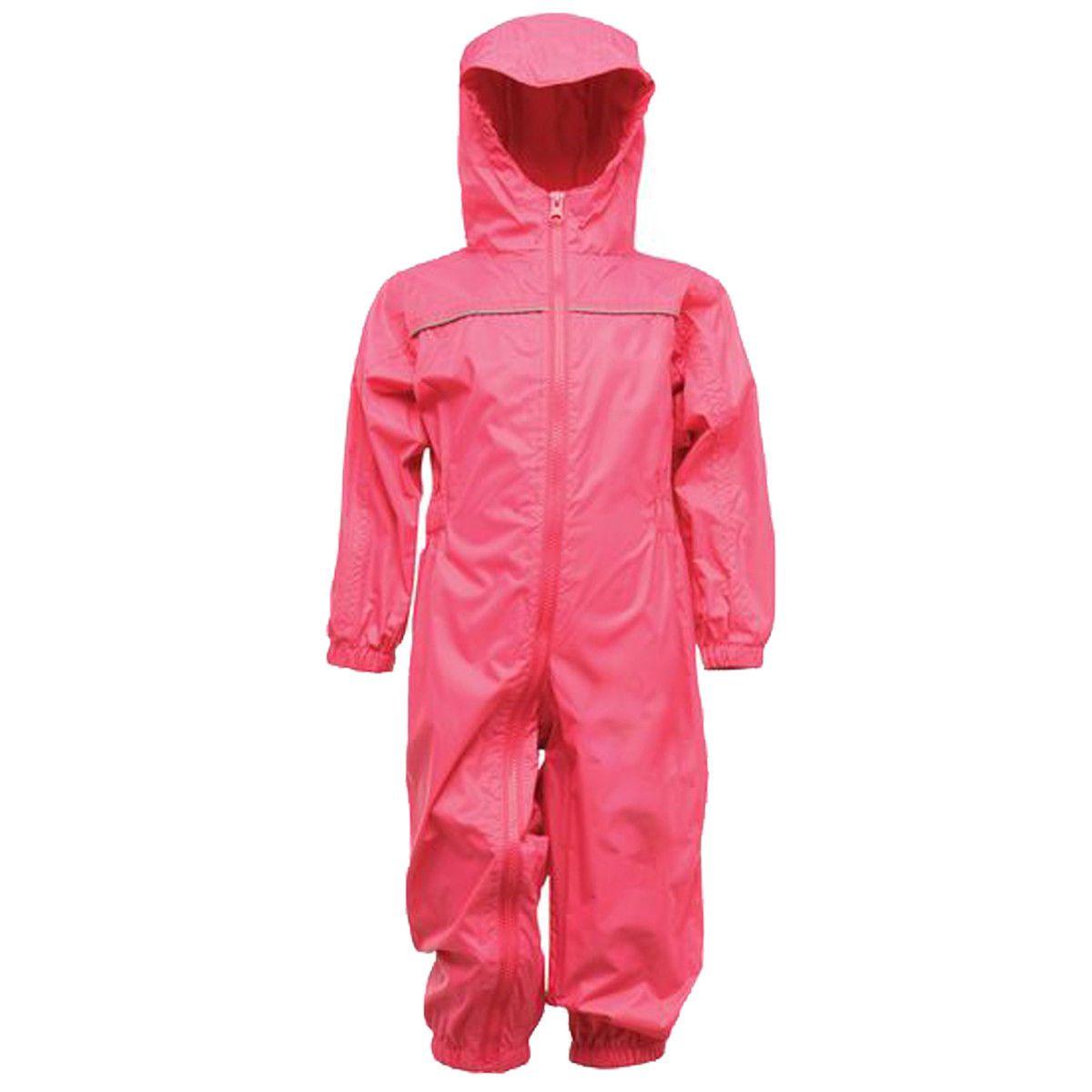Regatta Kid's Breathable Rain Suit Various Colours L_TRW466 - Jem 12 to 18 Months