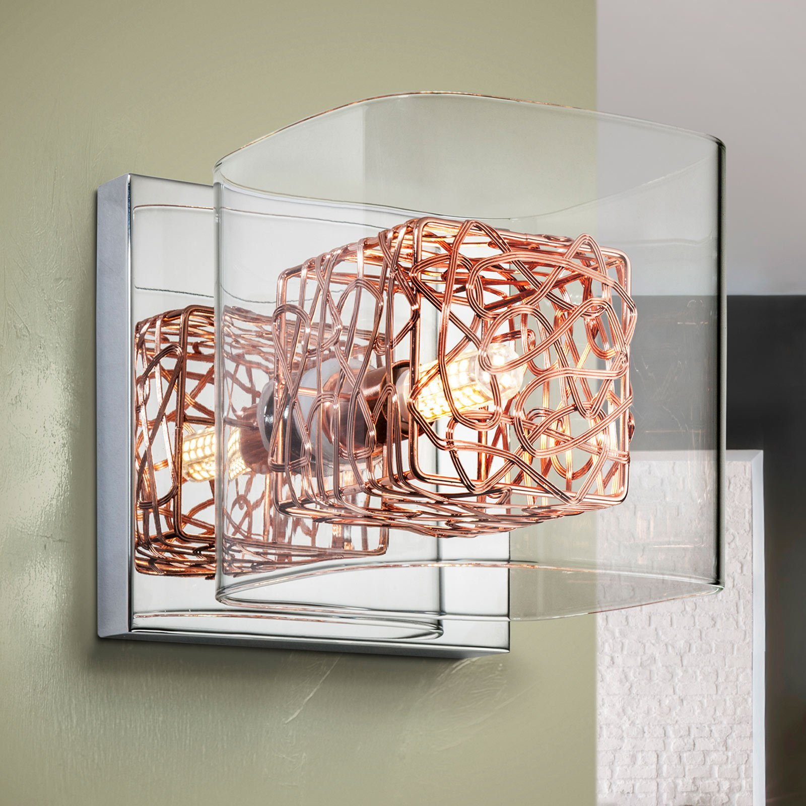 LED-vegglampe Lios