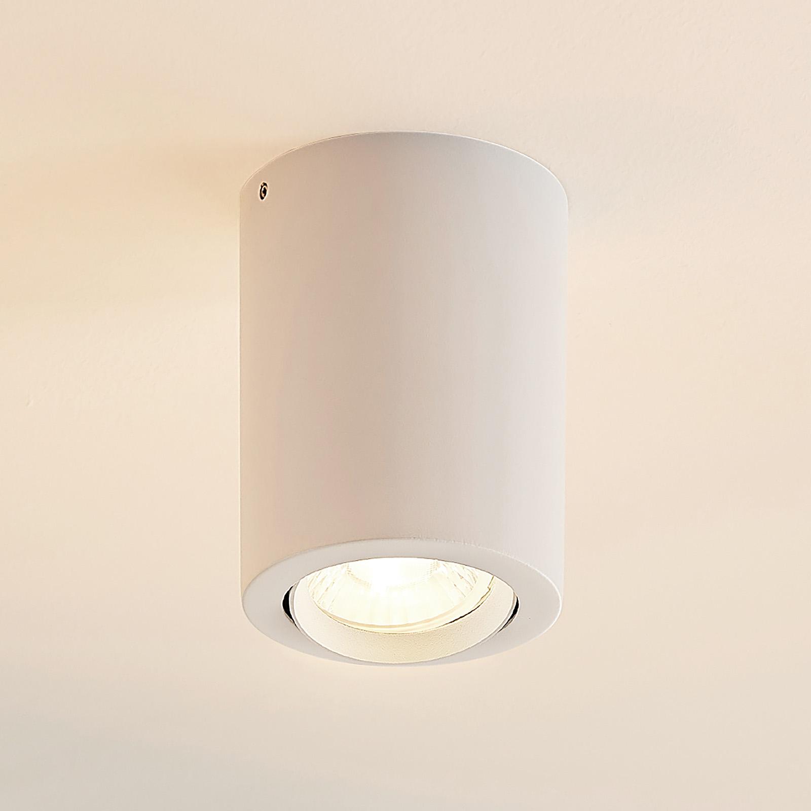 Arcchio Bircan -LED-alasvalo, alumiinia, 8 W