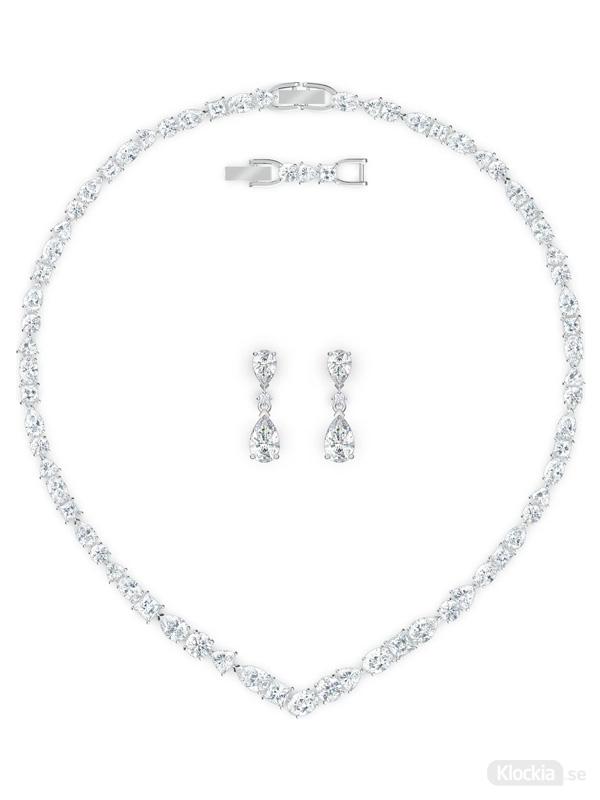 Swarovski Halsband & Örhängen Tennis Delux V Mixed Set 5575495