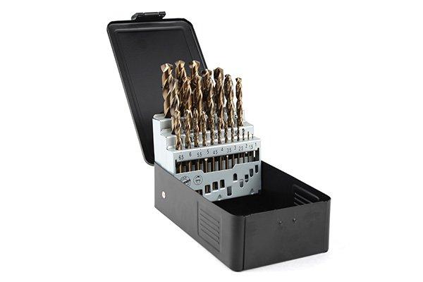 Borrkassett kobolt 1-13mm. met