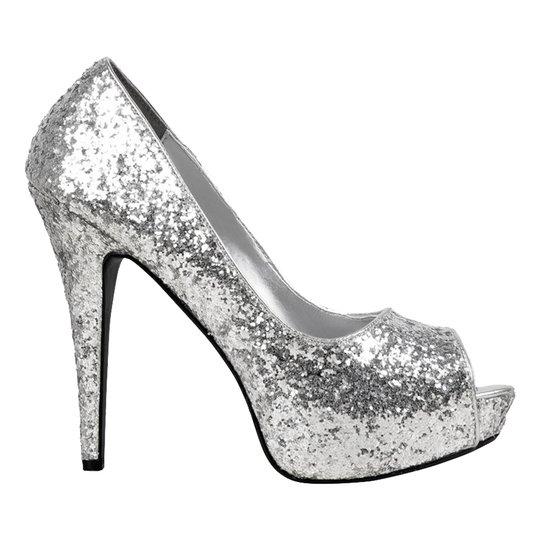 Pumps Silver/Glitter - 37