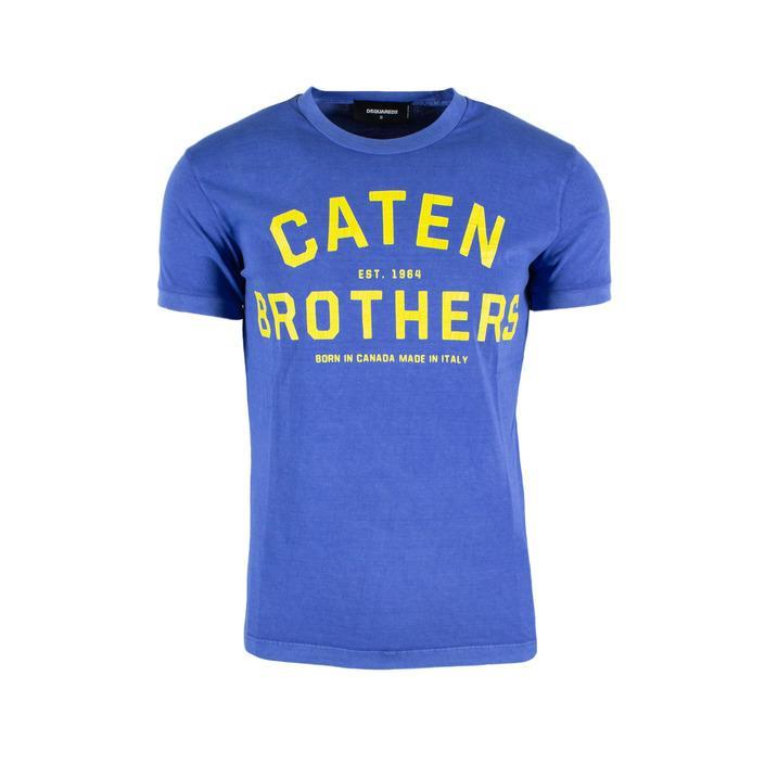 Dsquared Men's T-Shirt Blue 165466 - blue XS