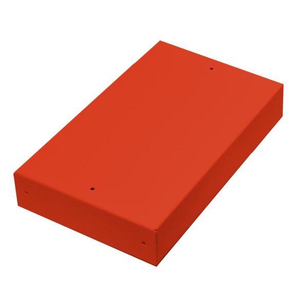 Alarmtech 3204.02R Kytkentärasia ilman aukkoa, teräs 4 moduulille