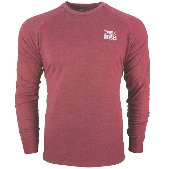 Bad Boy Icon T-shirt - Long Sleeve, Red