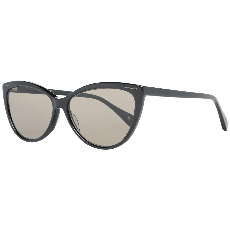 Yohji Yamamoto Women's Sunglasses Black YS5001 58001