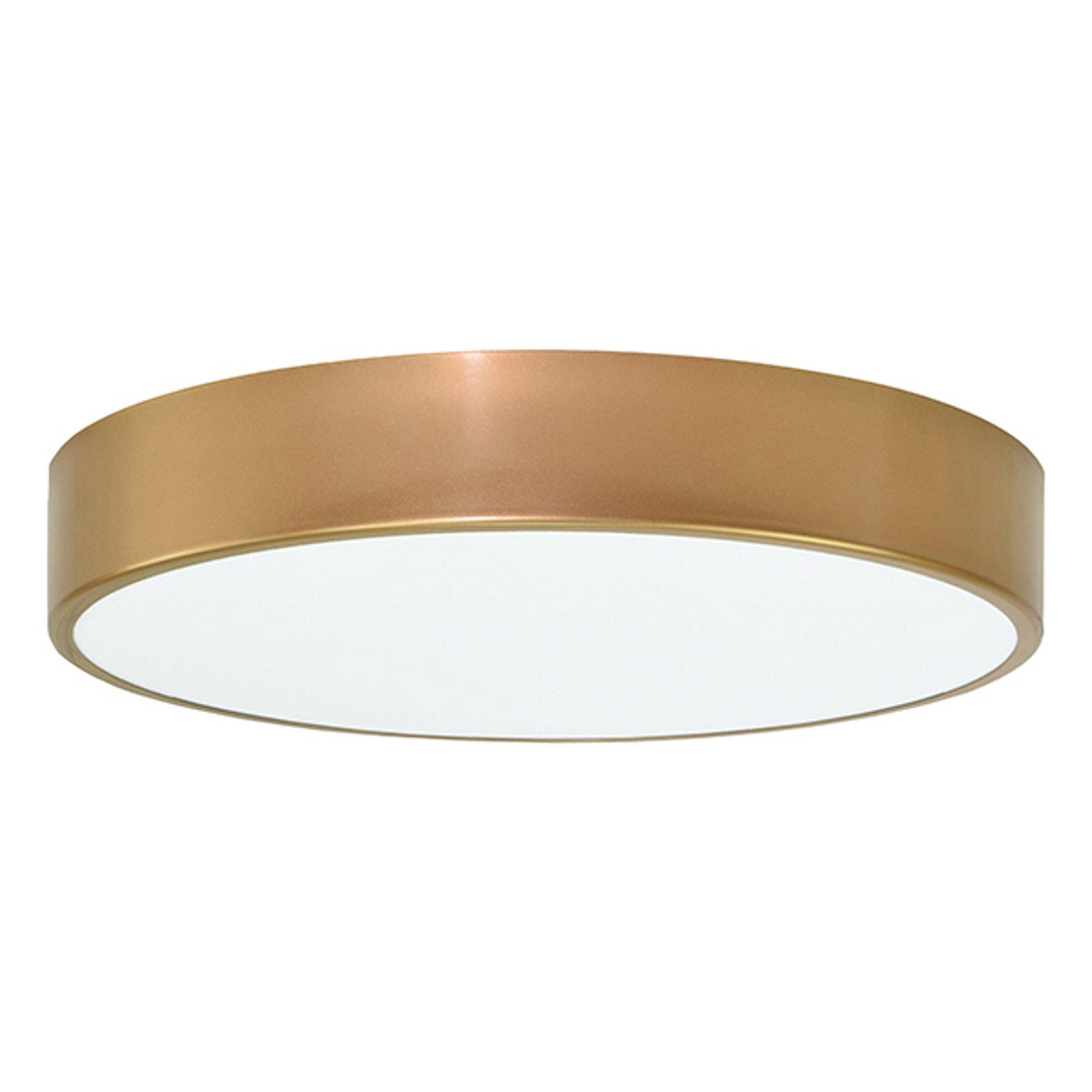 Taklampe Cleo Ø 50 cm, gull