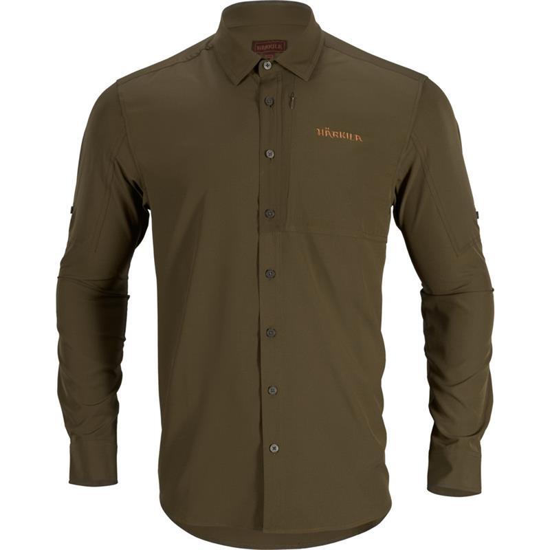 Härkila Trail L/S Skjorte XL Willow Green