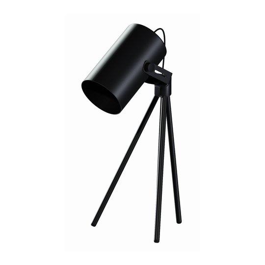 La Tuba 450 bordlampe tre bein spot, svart