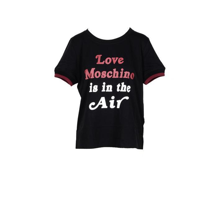 Love Moschino Women's T-Shirt Black 178067 - black 44