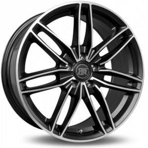 Racer Edition Light Satin Black Machined Face 7x16 5/112 ET30 B66.5