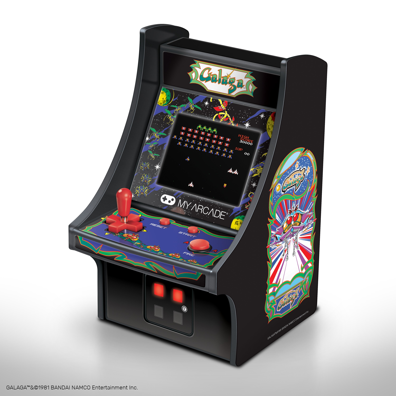Myarcade Micro Player Galaga Retro