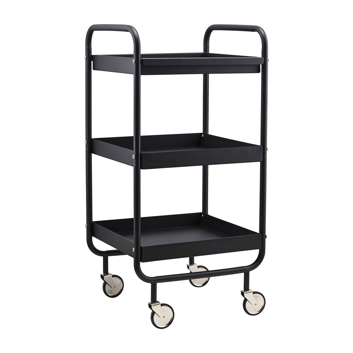 House Doctor - Roll Trolley - Black (PJ0120)