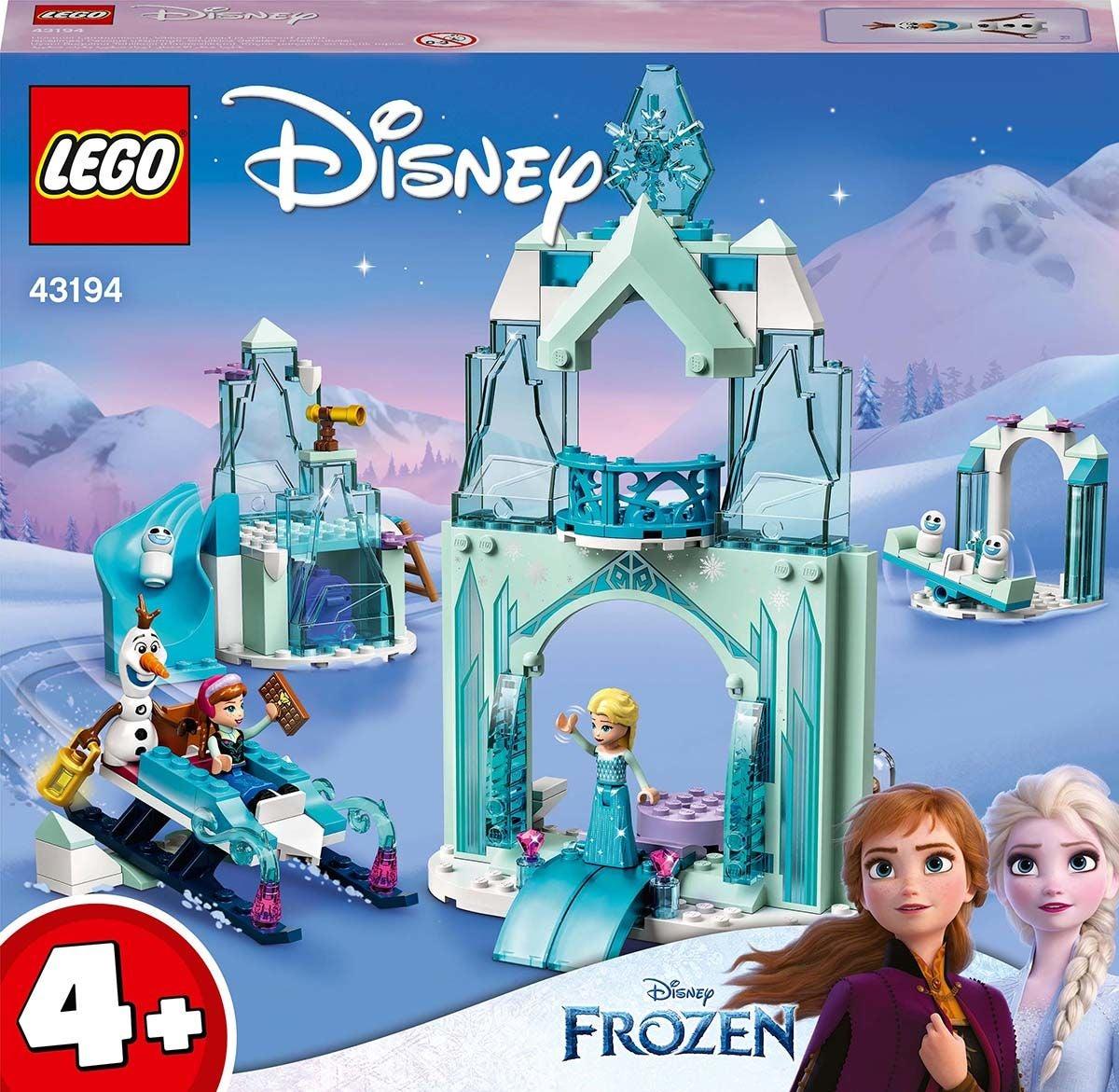 LEGO Disney Prinsessat 43194 Annan ja Elsan Huurteinen Ihmemaa