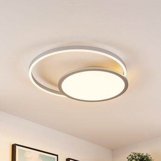 Lucande Irmi -LED-kattovalaisin, CCT
