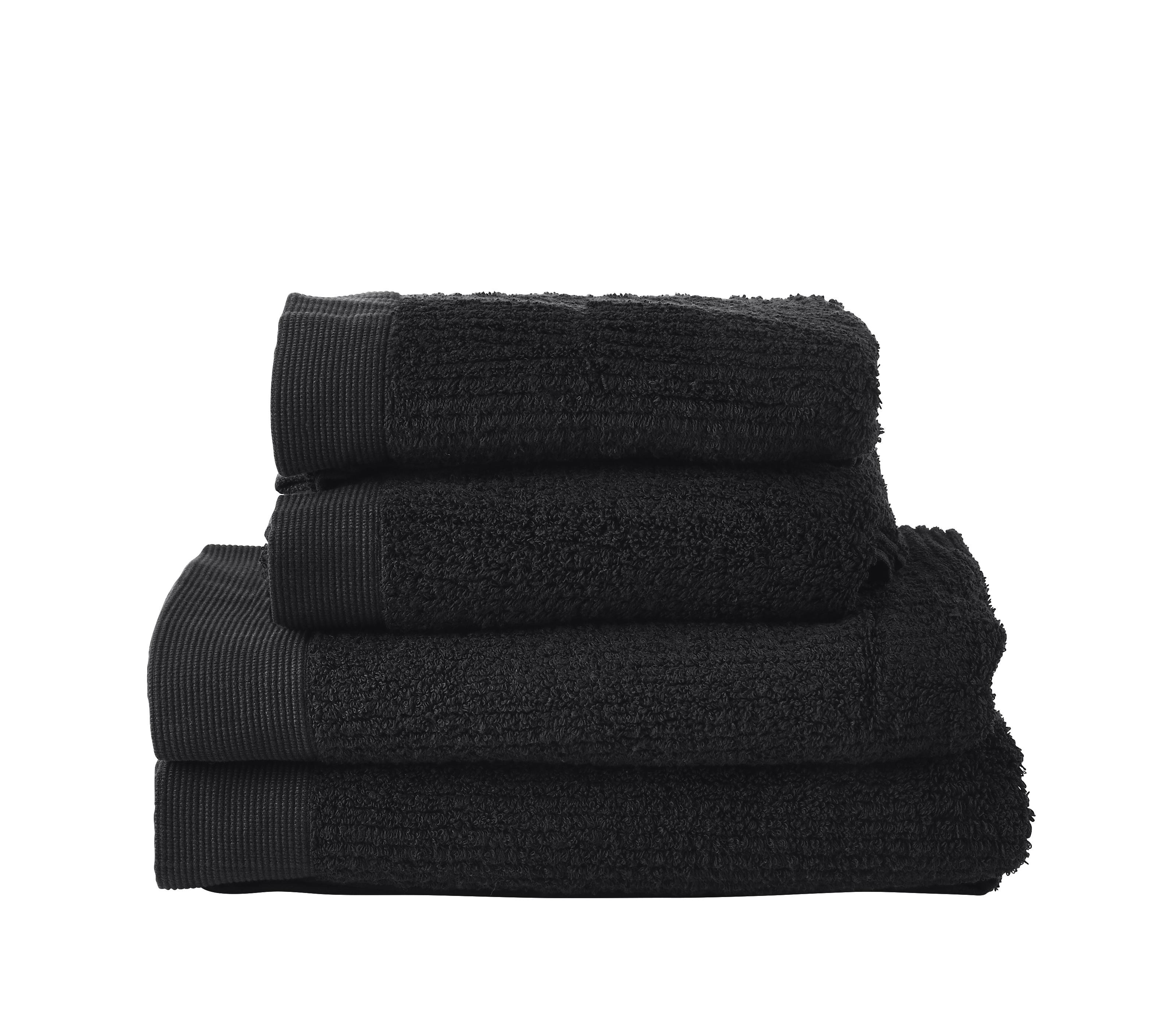 Zone - Classic Towel Set - Black (330846)