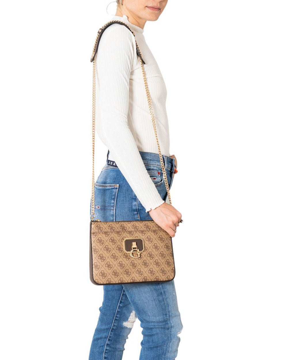 Guess Women's Shoulder Bag Various Colours 308442 - beige UNICA