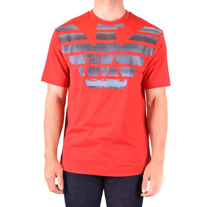Emporio Armani Men's T-Shirt Red 181982 - red L