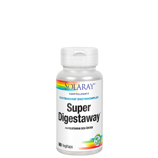 Super Digestaway, 60 kapslar