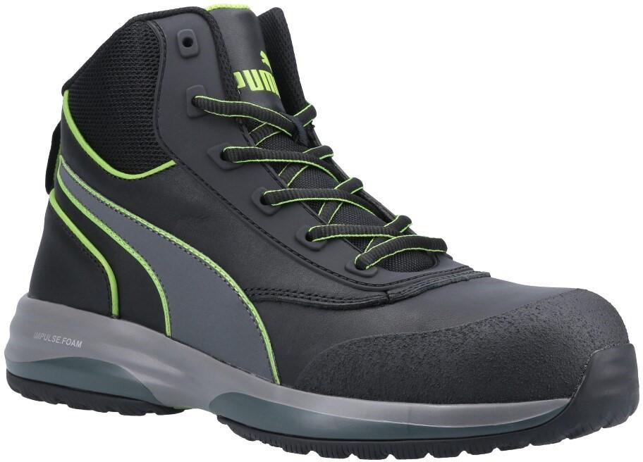 Puma Safety Unisex Rapid Mid Safety Boot Green 31849 - Green 6