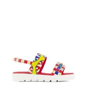 Dolce & Gabbana Carretto Sandaler Röda 24 (UK 7)
