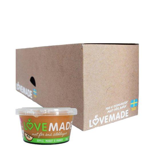 Laatikollinen Lastenruokaa: Omena, Porkkana & Mango 6 x 180g - 45% alennus