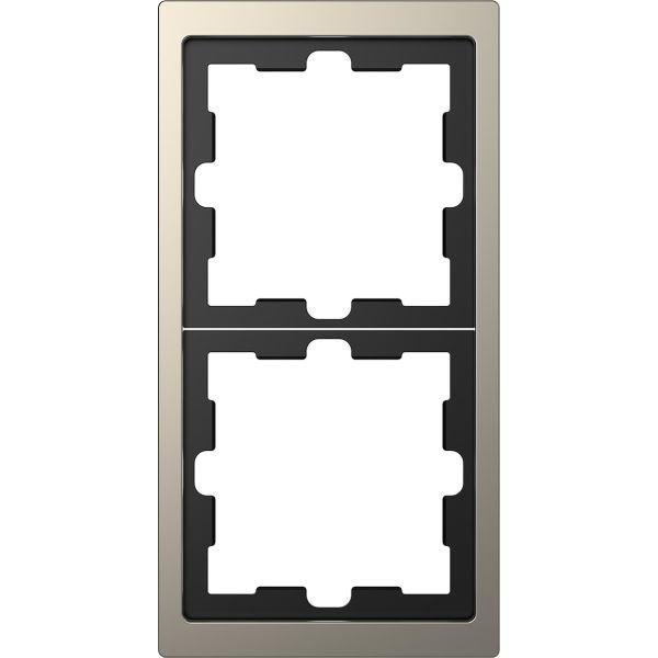 Schneider Electric MTN4020-6550 Yhdistelmäkehys 2 lokero, metalli Grafit